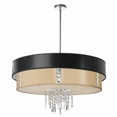 Rita 4-Light Drum Chandelier