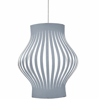 Toro 4-Light Geometric Pendant Shade Color: Silver