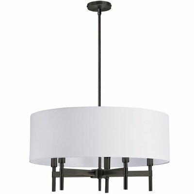 Larkin 5-Light Drum Chandelier Finish: Vintage Oiled Brushed Bronze