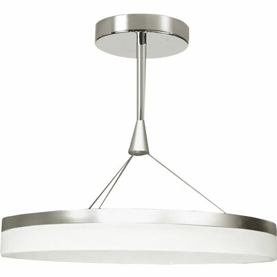 Kepler 1-Light Drum Pendant Size: 14 H x 24 W x 24 D