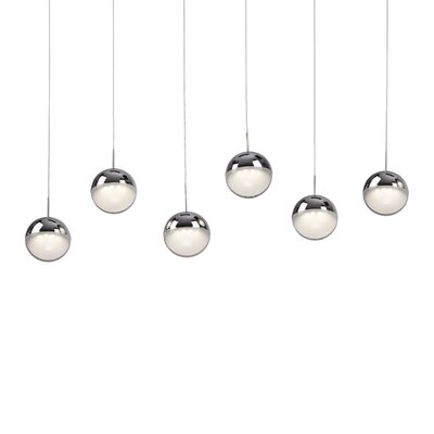 Besley 6-Light Kitchen Island Pendant