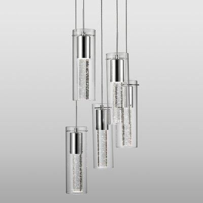 Auburn 5-Light Cascade Pendant