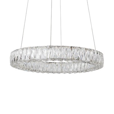 Auburn 4-Light Crystal Pendant