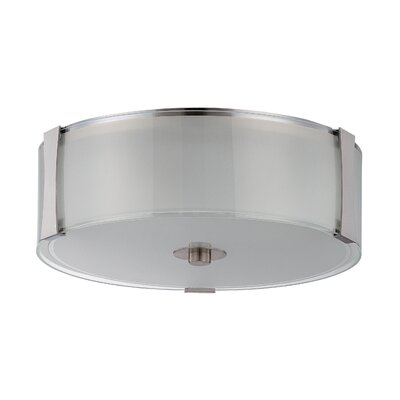 Henkle 3-Light Flush Mount