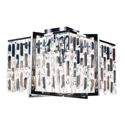 Alero 4-Light Flush Mount Finish: Polished Chrome