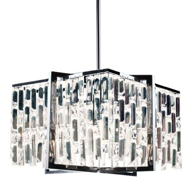 Alero 4-Light Crystal Pendant Finish: Polished Chrome