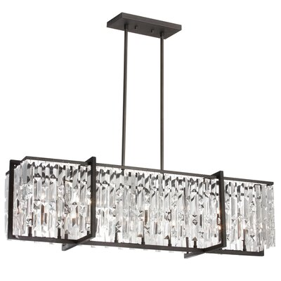 Alero 9-Light Kitchen Island Pendant Finish: Espresso
