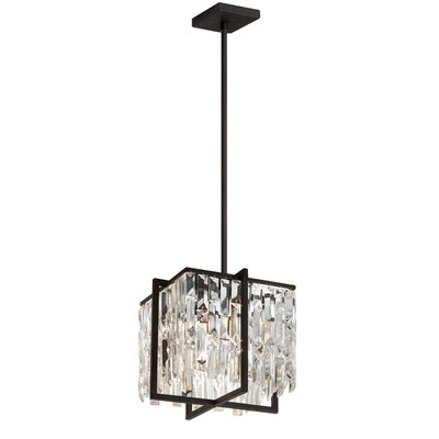 Alero 4-Light Crystal Pendant Finish: Espresso