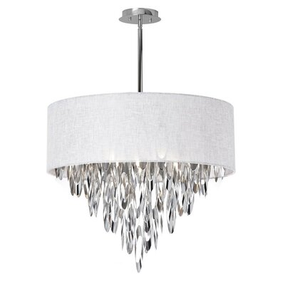 Allton 8-Light Drum Pendant