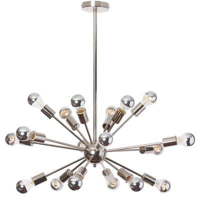 Briston 18-Light Cluster Pendant Size: 18 H x 34 W x 34 D