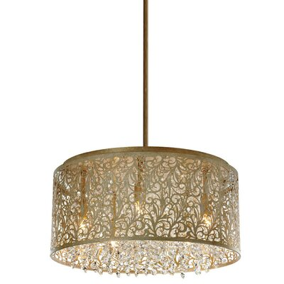Siley 8-Light Drum Chandelier Finish: Palladium Gold