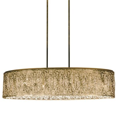 Siley 7-Light Kitchen Island Pendant Finish: Palladium Gold