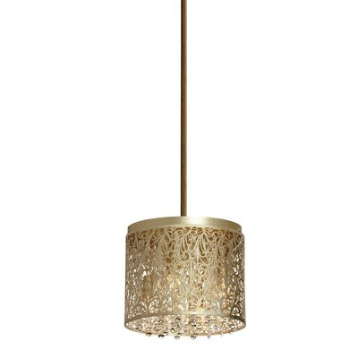 Siley 4-Light Drum Chandelier Finish: Palladium Gold