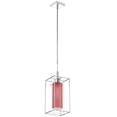 Cbegbe 1-Light Mini Pendant Shade Color: Red