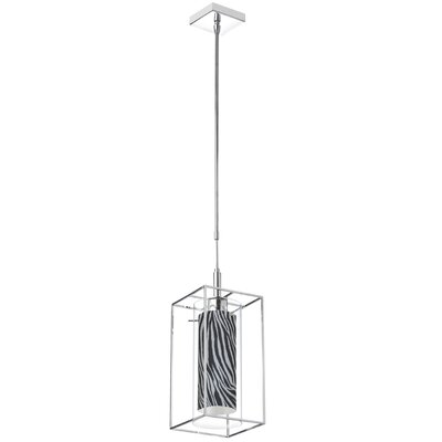 Cbegbe 1-Light Mini Pendant Shade Color: Black/White
