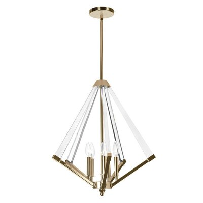 Altlass 5-Light Foyer Pendant Finish: Vintage Bronze