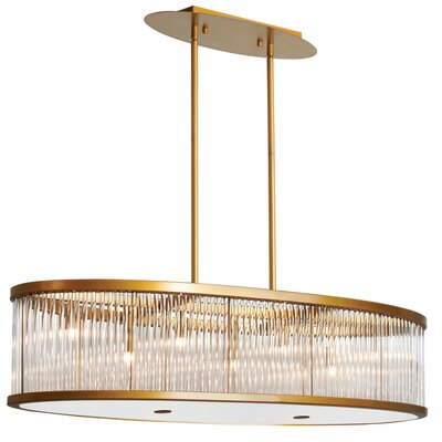 Greffen 7-Light Drum Pendant Finish: Vintage Bronze