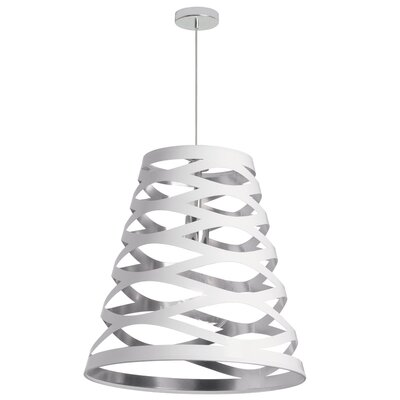 Countess 1-Light Mini Pendant Size: 24 H x 22 W x 22 D