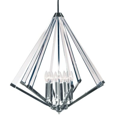 Altlass 8-Light Foyer Pendant Finish: Polished Chrome