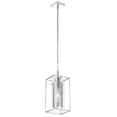 CBEGBE 1-Light Mini Pendant Shade Color: Gray