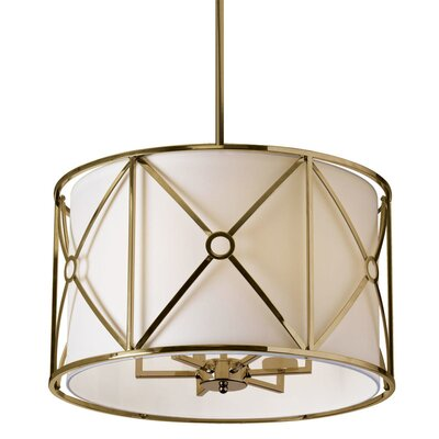Crue 6-Light Drum Pendant Finish: Vintage Bronze