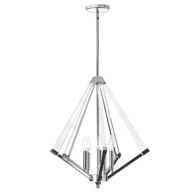 Altlass 5-Light Foyer Pendant Finish: Polished Chrome