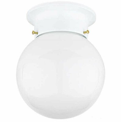 Chateaux 1-Light Flush Mount