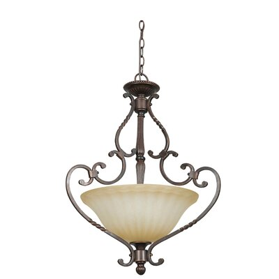 Daniella 3-Light Inverted Pendant