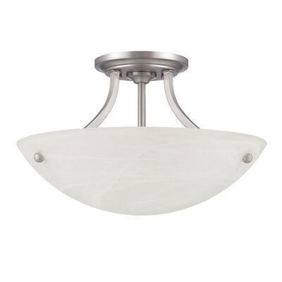 Kenston 2-Light Semi Flush Mount