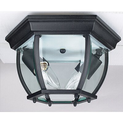 Garrett 2-Light Flush Mount