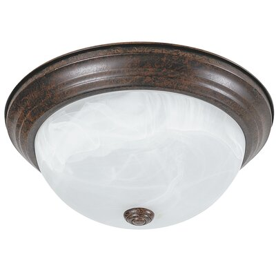 Everest 2-Light Flush Mount