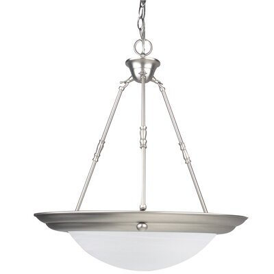 Everest 2-Light Inverted Pendant