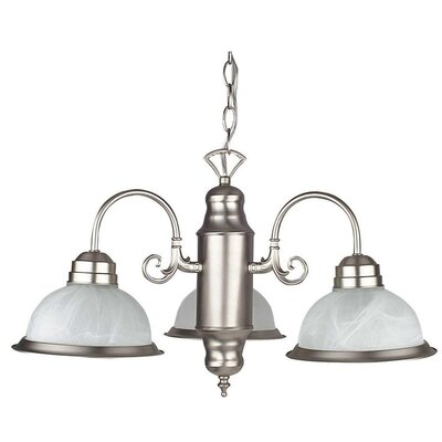 Grayson 3-Light Shaded Chandelier