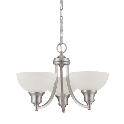 Inspire 3-Light Shaded Chandelier
