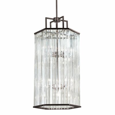 Aruba 8-Light Foyer Pendant Finish: Brushed Bronze
