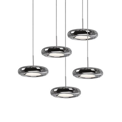 Inspire 5-Light Cascade Pendant