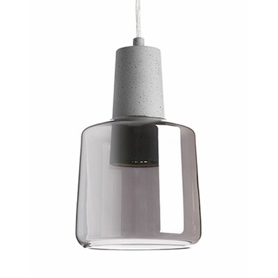 Kara 1-Light Mini Pendant Finish: Gray