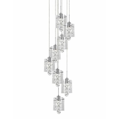 Flora 8-Light Cascade Pendant