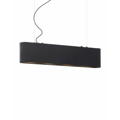 Hailey 3-Light Kitchen Island Pendant Finish: Black
