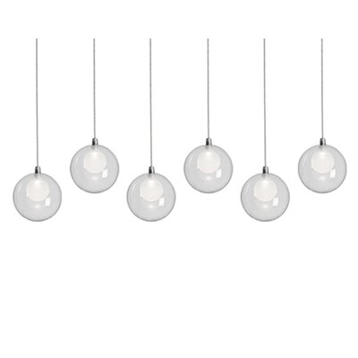 City Chic 6-Light Cascade Pendant