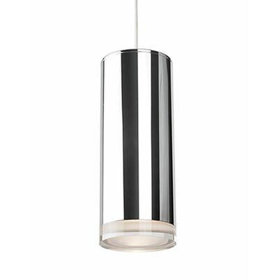 Leopold 1-Light Mini Pendant Size: 7.5 H x 3.1 W x 3.1 D
