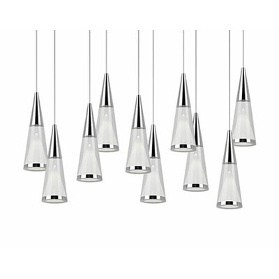 Daniella 10-Light Cascade Pendant