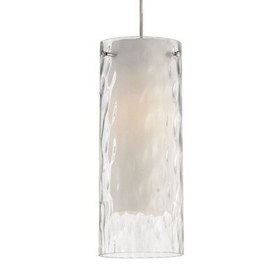 Nevaeh 1-Light Mini Pendant Size: 11.75 H x 4.75 W x 4.75 D
