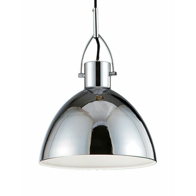 Babell 1-Light Bowl Pendant Size: 13 H x 8.6 W x 8.6 D