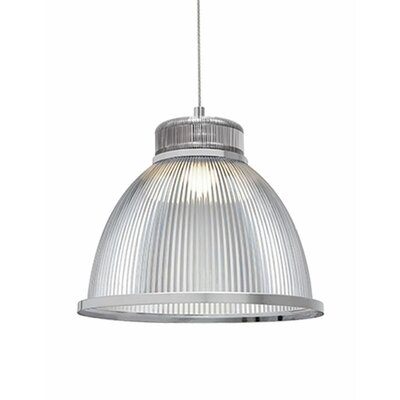 Babell 1-Light Bowl Pendant Finish: Chrome
