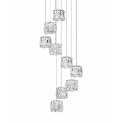Spectrum 9-Light Cascade Pendant
