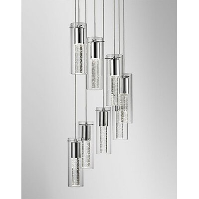 Monroe 8-Light Cascade Pendant