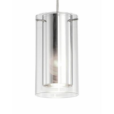 Nevaeh 1-Light Mini Pendant Size: 7.25 H x 4 W x 4 D