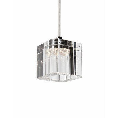 Dara 1-Light Mini Pendant Size: 122.8 H x 3.1 W x 3.1 D