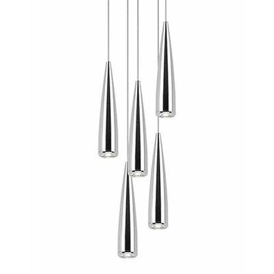 Morris 5-Light Cascade Pendant